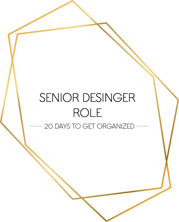 senior designer role