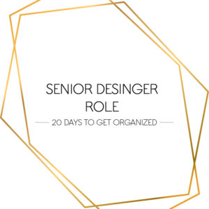 senior designer role