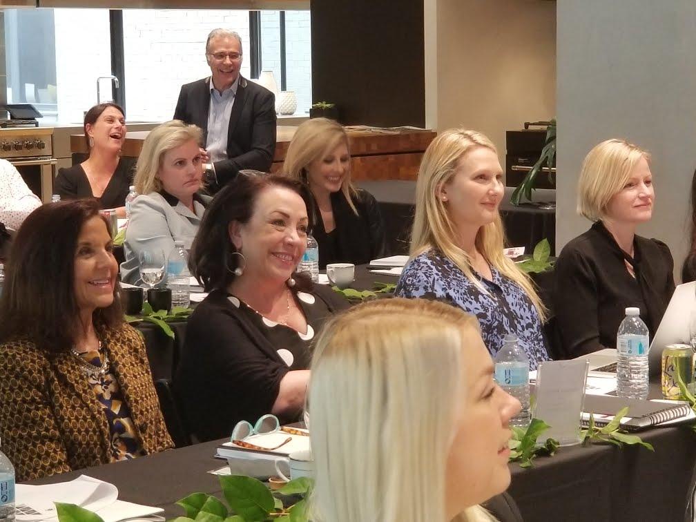Julia Molloy provides business training to interior designers